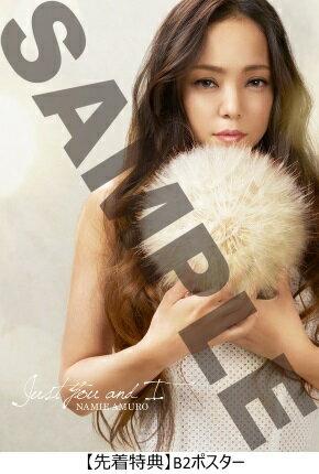 【先着特典付】安室奈美恵/JustYouandI<CD+DVD>[Z-6107]20170531