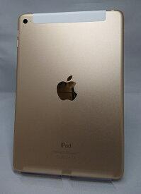 【中古】Softbank iPad mini4 128GB ゴールド ABランク<中古携帯>(代引き不可)6570
