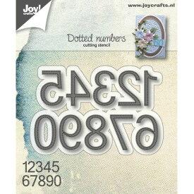 6002-1173/ジョイ・クラフツ/ダイ(抜型)/Dotted numbers ドットナンバー数字
