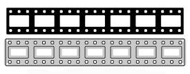N17-057/ワンダーハウス/ダイ(抜型)/film strip フィルム ミニボーダー