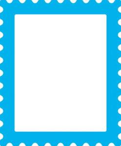 50-080/ワンダーハウス/スポンジダイ(抜型)/frame フレーム stamp 切手