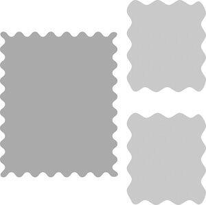 50-082/ワンダーハウス/スポンジダイ(抜型)/frame フレーム stamp 切手