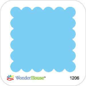 42-162_1206/ワンダーハウス/スポンジダイ(抜型)/frame フレーム stamp 切手