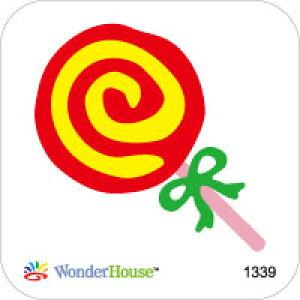 42-181_1339/ワンダーハウス/スポンジダイ(抜型)/lollipop ロリポップキャンディ