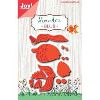 6002-1147/Joy!Crafts/喬伊·手藝/dai(抜型)/Mon Ami Goldfisch BLUB金魚閥門