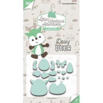 6002-3125/Joy!Crafts/喬伊·手藝/dai(抜型)/Little Woodland Adventures Daisy Deer利特爾伍德大地冒險鹿鹿