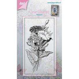 6410-0379/ジョイ・クラフツ/クリアスタンプ/Petunia