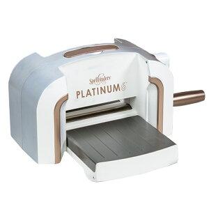 PE-100/スペルバインダーズ/ダイカットマシン/Platinum 6 Die Cutting and Embossing Machine 6 Platform プラチナム6インチ