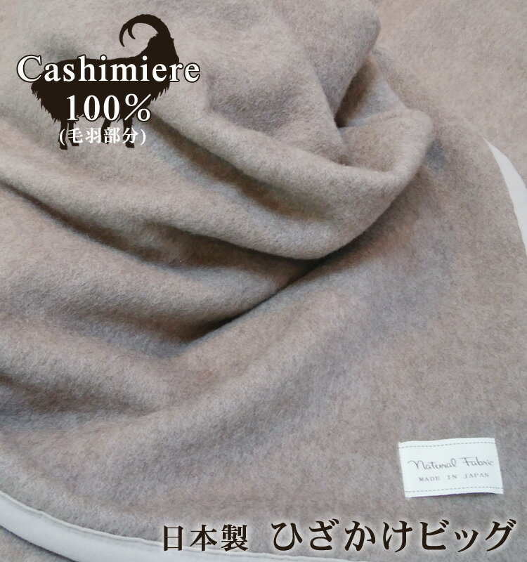 【送料無料】日本製 カシミヤ 100% ひざ掛けビッグ 毛布 保湿 チクチクしない 冷え予防 温かい カシミヤ100% 吸湿発熱 カシミヤ毛布 カシミヤひざ掛け 泉州 泉大津 国産 安心 天然素材 プレゼント ギフト