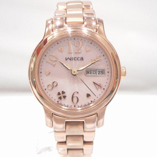 シチズン ウィッカ wicca KH3-461-11 ピンクゴールド 時計 腕時計 レディース ★送料無料★【中古】【あす楽】
