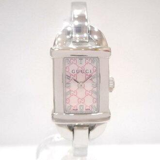 시계 구찌 GUCCI 6800 L G라인 레이디스 손목시계 핑크 문자판 ★★