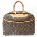 ルイヴィトン Louis Vuitton モノグラム ドーヴィル バッグ ★送料無料★【中古】【あす楽】