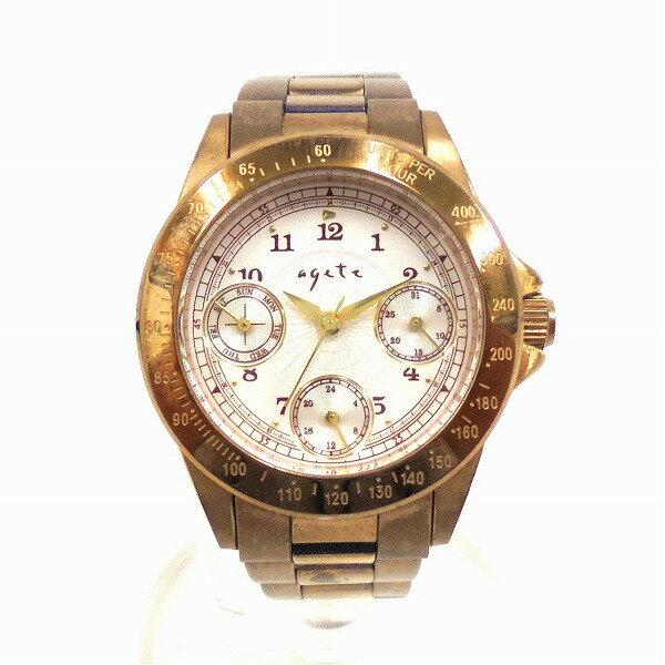 時計 agete FIRST アガット ファースト レディース腕時計 ★送料無料★【中古】【あす楽】