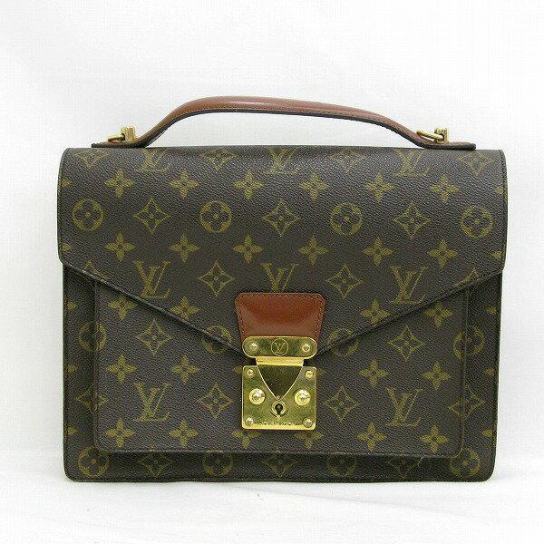 ルイヴィトン Louis Vuitton モノグラム モンソー セカンドバッグ M51187 ★送料無料★【中古】【あす楽】