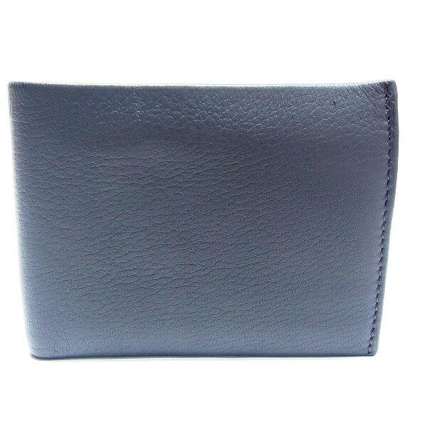 ヒロフ レザー 二つ折り財布 ★送料無料★【中古】【あす楽】