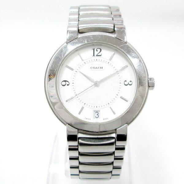 時計 コーチ COACH W516 メンズ クオーツ 白文字盤 ★送料無料★【中古】【あす楽】