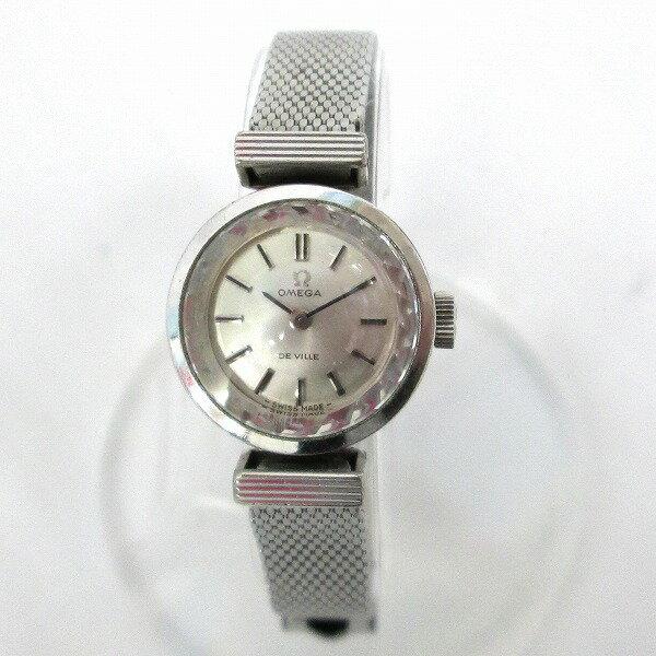 時計 OMEGA DE VILLE オメガ デビル 手巻き 腕時計 レディース ★送料無料★【中古】【あす楽】