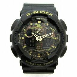 鐘表卡西歐G SHOCK僞裝僞裝色GA 100CF鐘表手錶人★郵費免費★[中古][明天輕鬆]