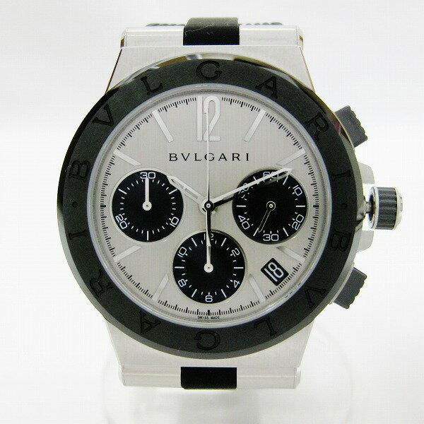 ブルガリ BVLGARI ディアゴノ クロノグラフデイト DG37SCCH 自動巻 時計 腕時計 メンズ ★送料無料★【中古】【あす楽】