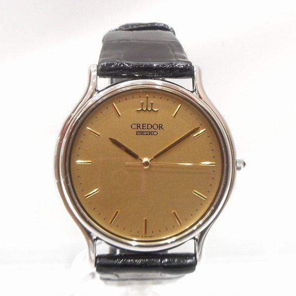 セイコー クレドール クォーツ 8J81 6A30 時計 腕時計 メンズ 未使用品 ★送料無料★【中古】【あす楽】