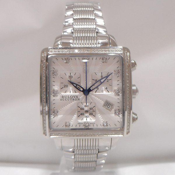 ブローバ アキュトロン ベゼルダイヤ 12Pダイヤ時計 腕時計 メンズ ★送料無料★【中古】【あす楽】