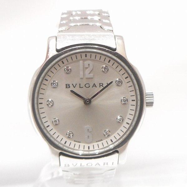 ブルガリ BVLGARI ソロテンポ ST29S 10P ダイヤ 時計 腕時計 レディース ★送料無料★【中古】【あす楽】
