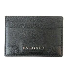 ブルガリ BVLGARI カードケース レザー 33404 ブランド小物 パスケース ユニセックス ★送料無料★【中古】【あす楽】