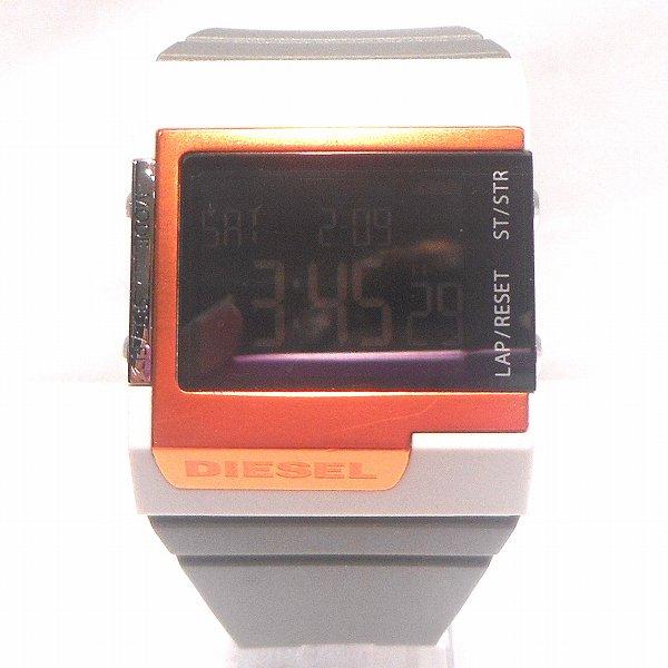 ディーゼル デジタル時計 DZ-7182 時計 腕時計 ユニセックス ★送料無料★【中古】【あす楽】