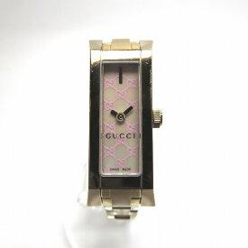 49baec285c59 グッチ GUCCI 110 Gリンク YA110521 ピンクシェル クォーツ 時計 腕時計 レディース ☆送料無料☆
