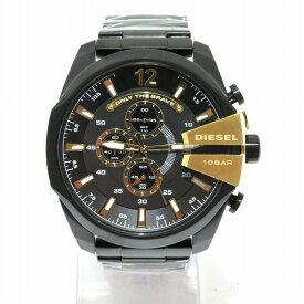 ディーゼル メガチーフ クロノグラフ DZ4338 クォーツ 時計 メンズ 腕時計 未使用品 ★送料無料★【中古】【あす楽】