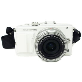 【中古】【PEN Lite E-PL6 レンズキット】OLYMPUS オリンパスデジタル一眼レフカメラ【商品ランク】☆☆☆☆/中古良品/細かなキズやテカリ、汚れがありますが、多少の使用感のみで状態の良い中古品です。【中古保証書付き】【78】