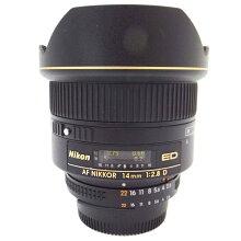 【中古】【AiAFNikkor14mmf/2.8DED】Nikon(ニコン)単焦点レンズ【商品ランク】☆☆☆☆/中古良品/細かなキズやテカリ、汚れがありますが、多少の使用感のみで状態の良い中古品です。【中古保証書付き】【88】