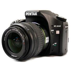 【中古】【K200D レンズキット】PENTAX (ペンタックス)デジタル一眼レフカメラ【商品ランク】☆☆☆/中古品/キズやテカリ、汚れ、付属品欠品などありますが、使用上の問題はない商品です。【中古保証書付き】【83】
