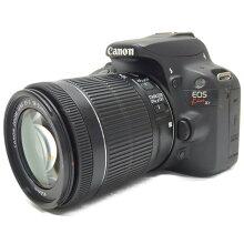 【中古】【EOSKissX7ダブルレンズキット】CANON(キヤノン)デジタル一眼カメラ【商品ランク】☆☆☆☆/中古良品/細かなキズやテカリ、汚れがありますが、多少の使用感のみで状態の良い中古品です。【中古保証書付き】【86】