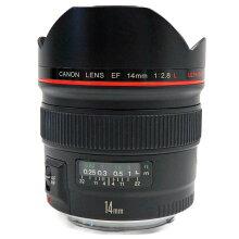【中古】【EF14mmF2.8LUSM】Canon(キャノン)単焦点広角レンズ【商品ランク】☆☆☆☆/中古良品/細かなキズやテカリ、汚れがありますが、多少の使用感のみで状態の良い中古品です。【中古保証書付き】【62】