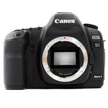 【中古】【EOS5DMarkIIボディ】CANON(キャノン)デジタル一眼レフカメラ【商品ランク】☆☆☆/中古品/キズやテカリ、汚れ、付属品欠品などありますが、使用上の問題はない商品です。【中古保証書付き】【75】