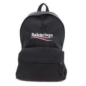 【美品】BALENCIAGA バレンシアガ エクスプローラー バックパック キャンバス、ブラック/黒【ショルダーバッグ】【リュックサック】【ユニセックス/メンズ/レディース】【中古】【Aランク】【88】