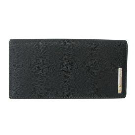 【新品同様】 Cartier(カルティエ) サントス 2つ折り長財布 L3000769 ブラック 【財布】【2つ折り財布】【メンズ □】【中古】【SAランク】【01】