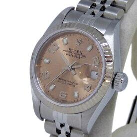 【美品】ROLEX(ロレックス) デイトジャスト Ref. 79174 F番 04年頃 オートマチック/自動巻き ピンク文字盤 【安心の1年間保証】【レディース ○】【腕時計】【中古】【Aランク】【64】