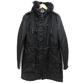 【Bランク】【サイズ:LL】BURBERRY BLACK LABEL バーバリー ブラックレーベルジャケット コート【BMP51-726-09】【三陽商会】【メンズ】【アウター】【中古】【85】