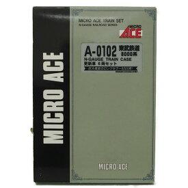 MICRO ACEマイクロエース/Nゲージ A0102東武鉄道 8000系 更新車6両セット/Nゲージ/Aランク/78【中古】