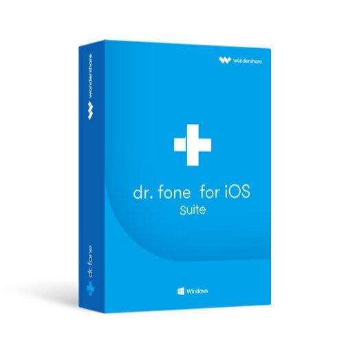 永久ライセンス【送料無料】Wondershare Dr.Fone for iOS Suite(Win版)最新iOS12、iPhone XS/XS Max/XRに対応 iPhone iPad iPod Touch データ復元 連絡先 写真復元 iPhone起動障害から修復 LINE・Viber・Kik・WhatsAppバックアップ・復元|ワンダーシェアー