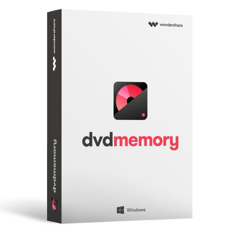 高品質なDVD・BD、3ステップで作成 Wondershare DVD Memory(Win版)DVD作成 BD作成 ブルーレイDVD作成 チャプター作成 スライドショー作成 動画編集 ビデオ編集ソフト 写真編集 MP4対応永久ライセンス Win10対応|ワンダーシェアー