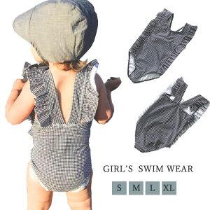 帽子付き 子供 水着 女の子 水着 スイムウェア ワンピース ベビー スクール水着 オールインワン キッズ 水着 子供 可愛い タンキニ 女の子 ガールズ プール フリル 子ども用 みずぎ おしゃれ