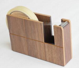木製文具 木のテープカッターテープカッター