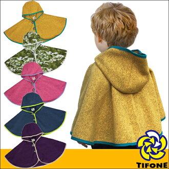 雨披小孩 TIFONE 轻量级雨披 YL 紧凑存储雨披孩子宝宝斗篷婴儿礼物礼物 TB3fs04gm