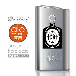 glo グロー ケース 的 射撃 銃 ピストル ターゲット グロー 電子タバコ クリアケース おしゃれ 可愛い 人気 保護 デザインケース glo カバー クリアカバー