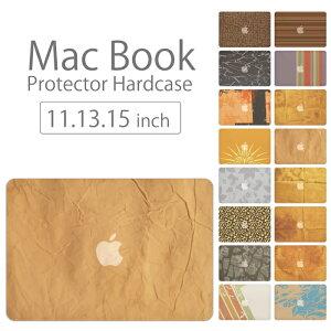【 MacBook Pro & Air 】【メール便不可】 デザイン シェルカバー シェルケース macbook pro 16 15 13 ケース air 11 13 retina display マックブック スウィート デザイン 壁紙 革 調 壁紙 人気柄