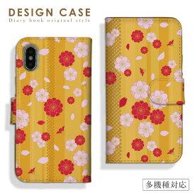 【送料無料】全機種対応 iPhone11ProMax iPhoneXS iPhoneXR対応 手帳型 スマホケース 和柄 日本の絵 伝統 JAPAN made スイカ スマートフォン ケース スマホカバー Xperia8 5 AQUOS sense3 zero2 Galaxy Note10 A20 Google Pixel4