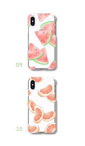 iphonexsケースiphonexsmaxケースhuaweip20litezenfonegalaxys9ケースフルーツスマホケース全機種対応ハードケースiPhone8おしゃれ定番大人可愛いシンプルオシャレ人気クリアケース送料無料